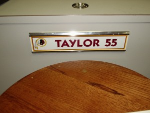 A nameplate.