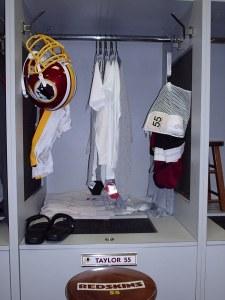 Jason Taylor's locker