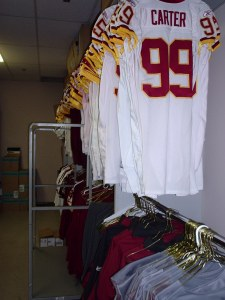 White jerseys by number.