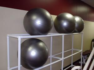 The legendary dodgeballs.