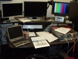 The bigger editing station.