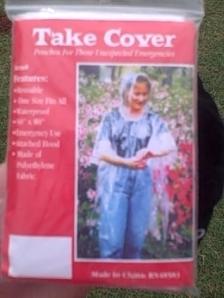 My Take Cover Poncho