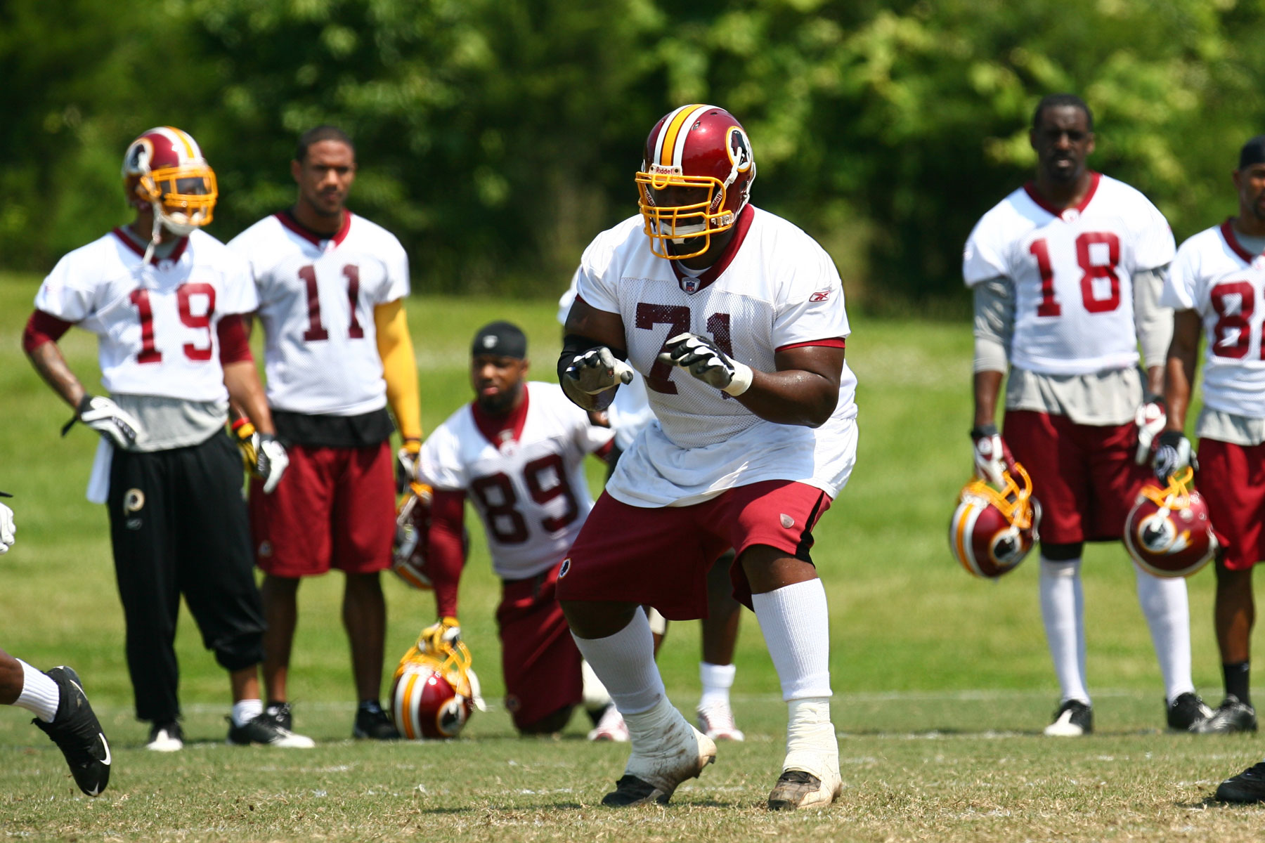 Redskins Offensive Line Not Impressing Out Of The Gates